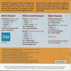 CD Robert et Hélène Dussaut 2