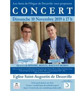 Eglise Saint-Augustin de Deauville – Dimanche 10 novembre 2019 – 17 h | Association CNSMDP