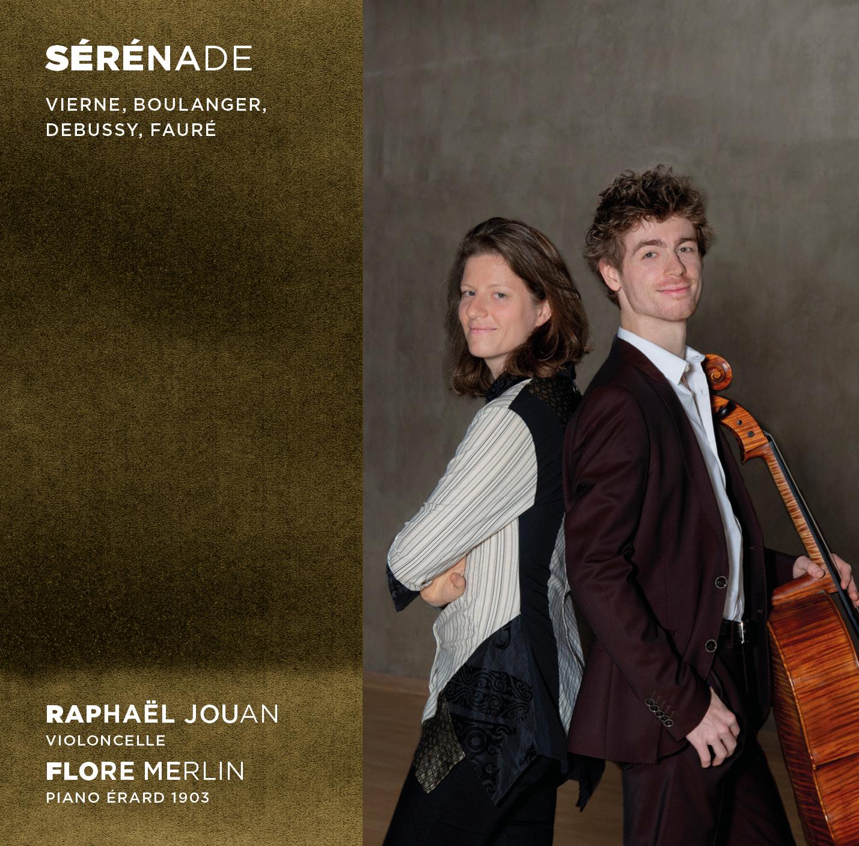 CD Sérénade – Raphaël Jouan et Flore Merlin | Association CNSMDP